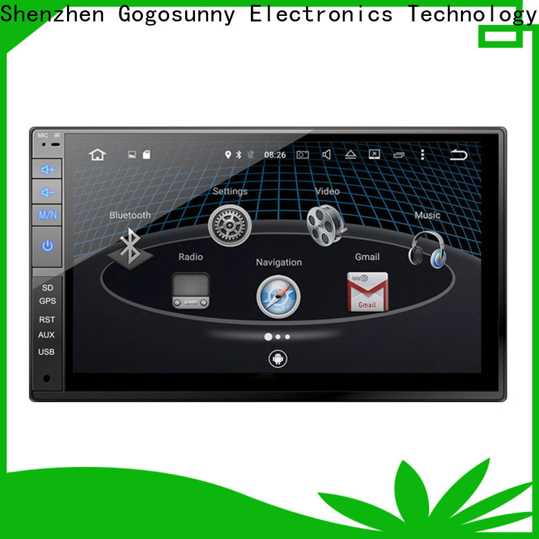 universal touch screen car radio for vehicle