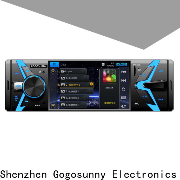 Gogosunny customize mp5 player bluetooth supplier for auto
