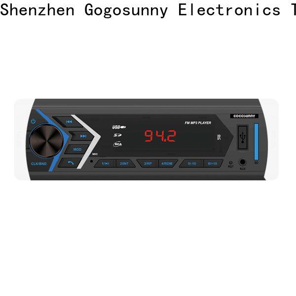 Gogosunny car audio mp3 player supplier for auto