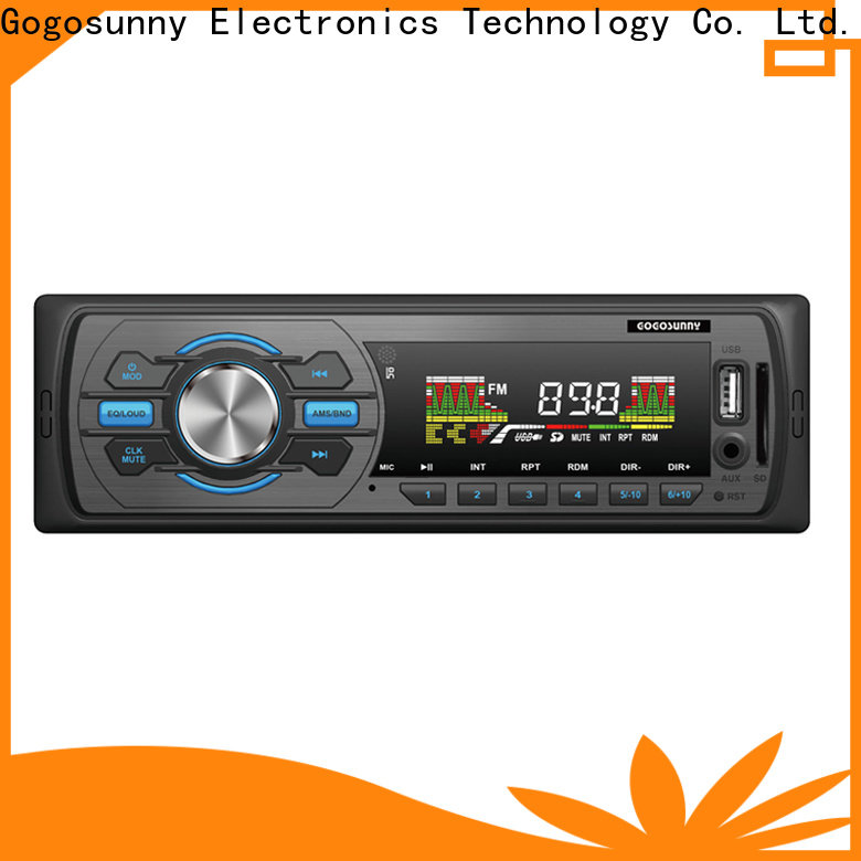 Gogosunny best car stereo with capacitive touch screen manufacturing for car
