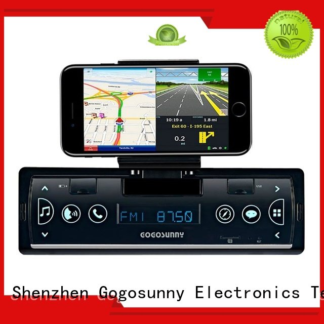 Gogosunny detachable car mp3 bluetooth for sale for vehicle