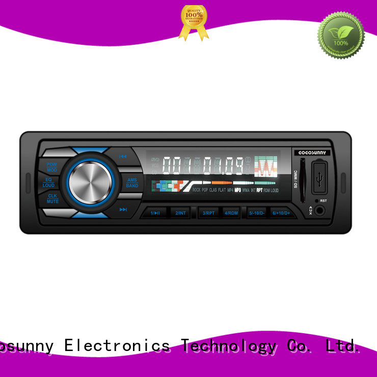 Gogosunny detachable car stereo with capacitive touch screen supplier for vehicle