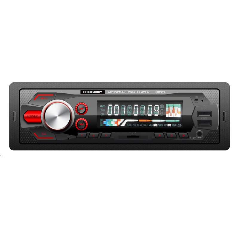 Double USB Car MP3 player with model No. 6293