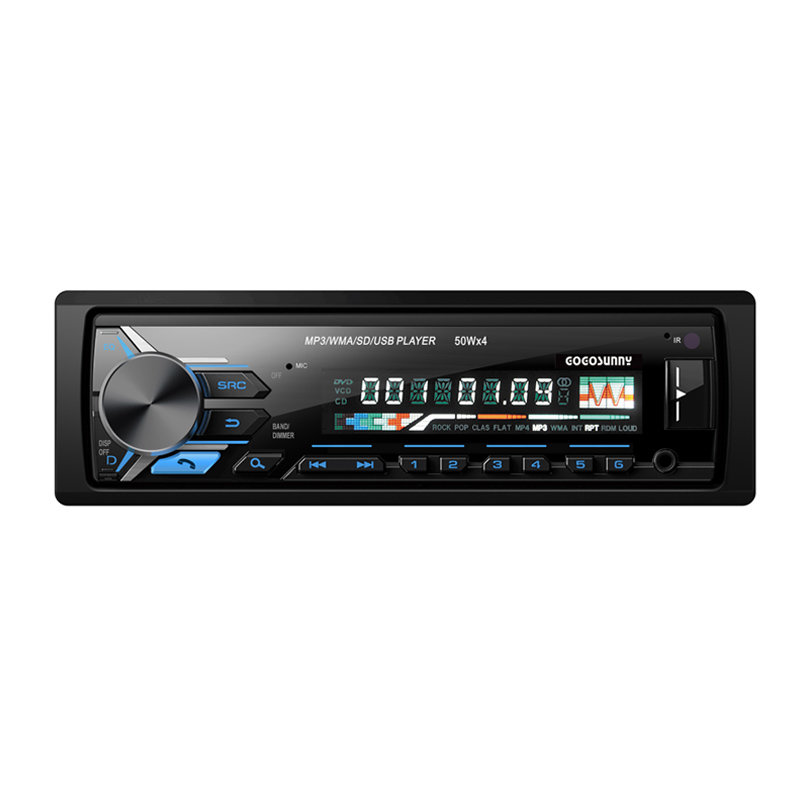 Detachable panel high power 4CH*45W Car radio mp3 player GOS model No. 3255