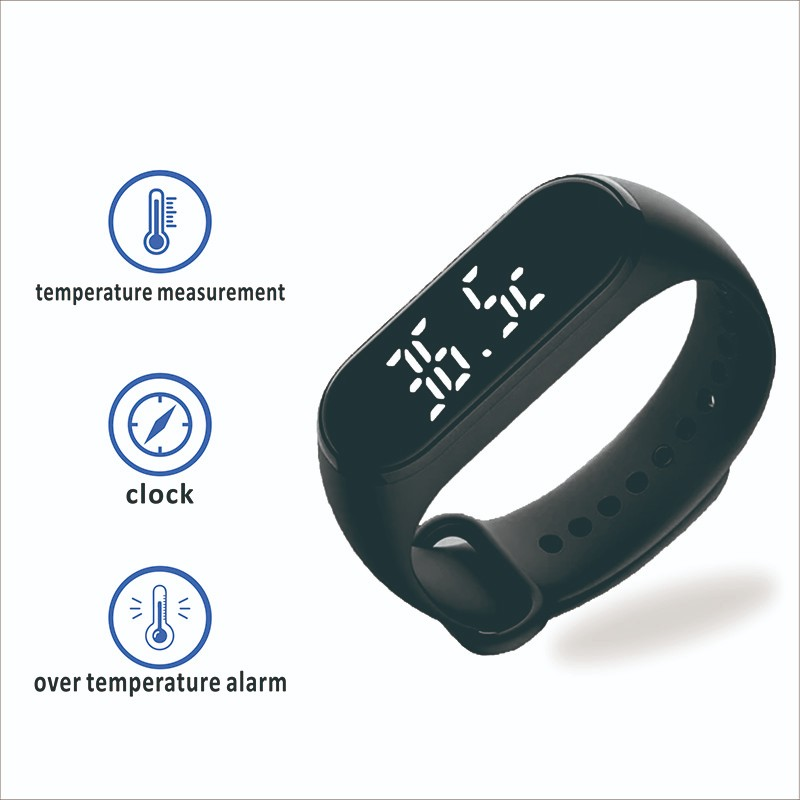 Gogosunny wrist watch with thermometer for sale for students-3
