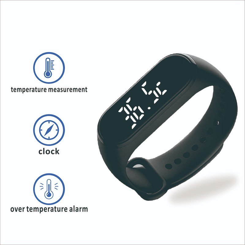 Gogosunny wrist watch with thermometer for sale for students