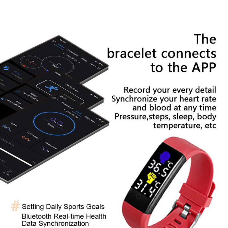 custom smartwatch with thermometer supplier for women-6