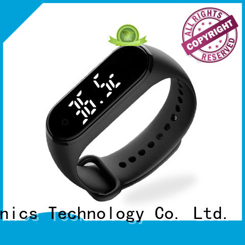 Gogosunny high tech smart bracelet with thermometer supplier for men
