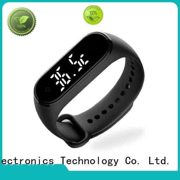 Gogosunny high tech smart bracelet with temperature sensor wholesale for men