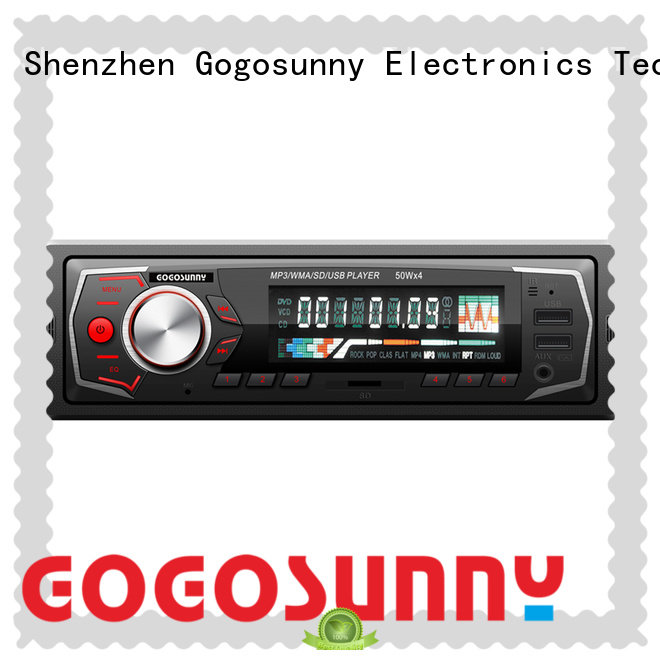 Gogosunny best car mp3 with smartphone holder for sale for auto