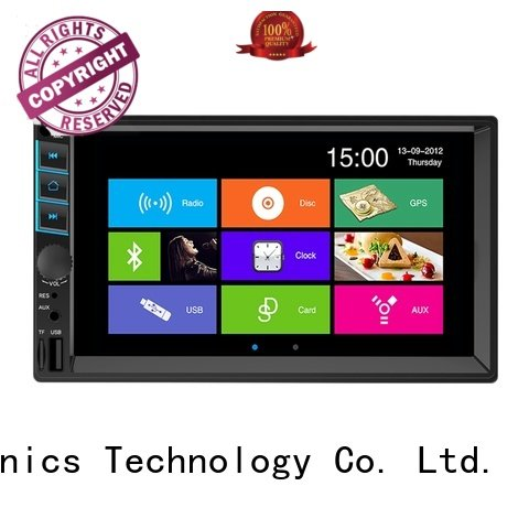 retractable touch screen car radio for sale for auto