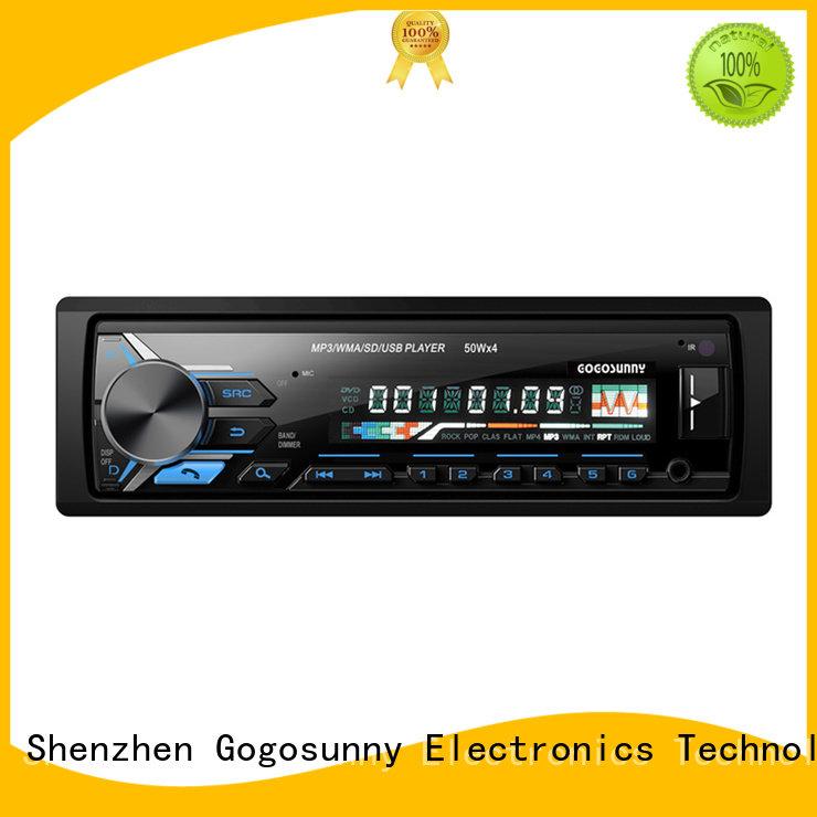 Gogosunny custom car MP3 with remote control supplier for car