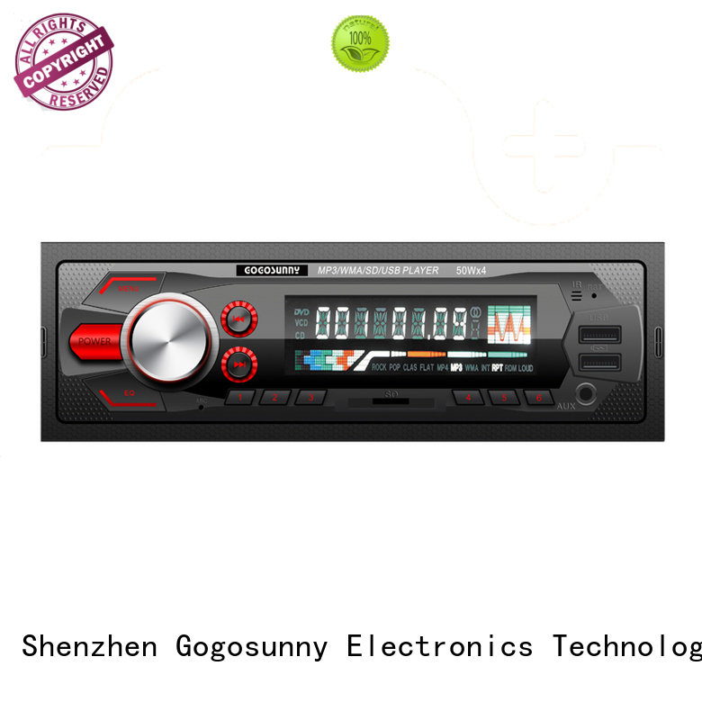 Gogosunny best car sound mp3 price for vehicle